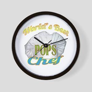 WORLD'S BEST CHEF / POPS Wall Clock