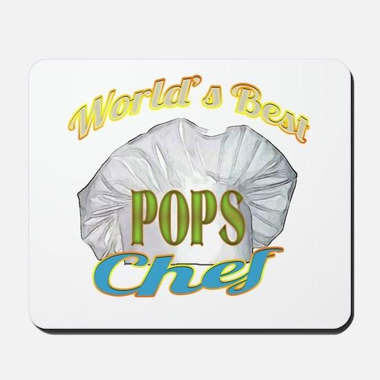 WORLD'S BEST CHEF / POPS Mousepad