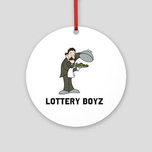 Lottery Boyz Ornament (Round)