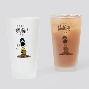 Baseball Aaugh! Drinking Glass