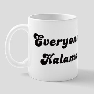 Loves Kalamazoo Girl Mug