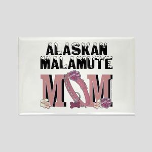 Malamute MOM Rectangle Magnet