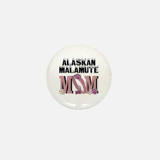 Malamute MOM Mini Button