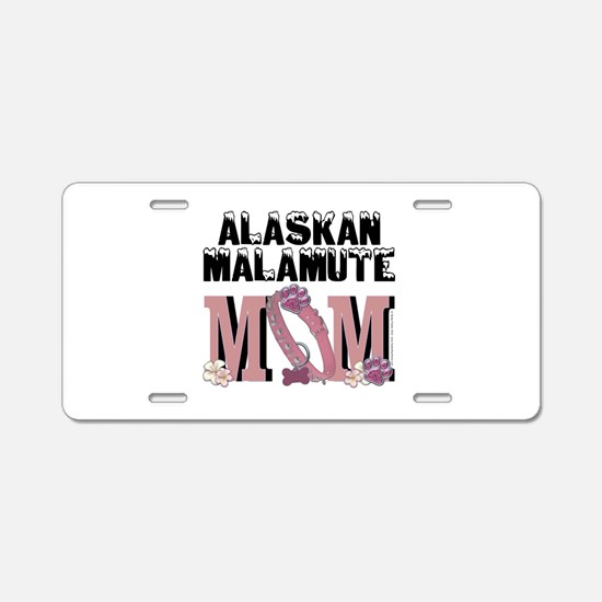 Malamute MOM Aluminum License Plate