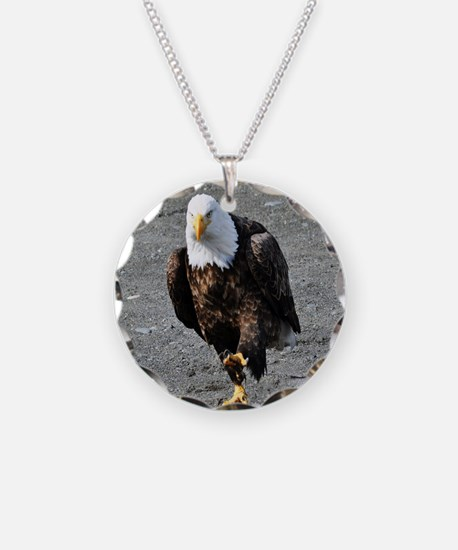 Bald Eagle Chase Necklace