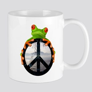peace frog1 Mugs