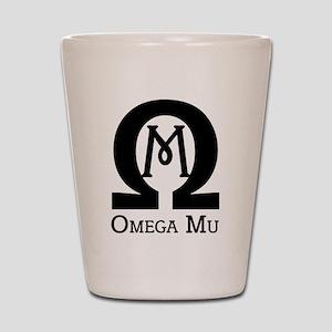 Omega MU - Black - Shot Glass