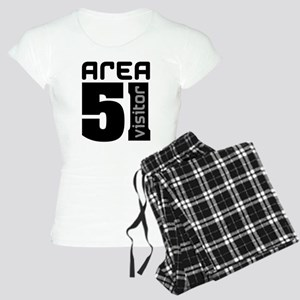 Area 51 Alien Visitor Women's Light Pajamas