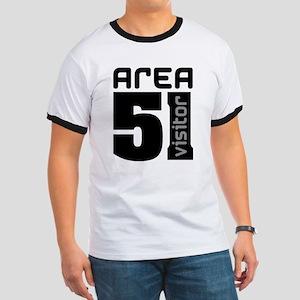 Area 51 Alien Visitor Ringer T