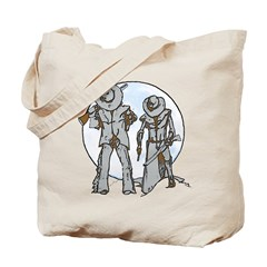 Cowboy moon Tote Bag