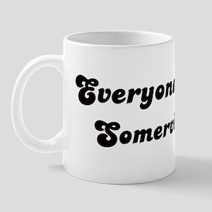 Loves Somerville Girl Mug