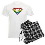 Super Gay! Outlined Men's Light Pajamas