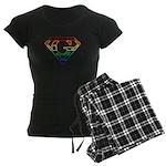 Super Gay! Neon Women's Dark Pajamas