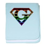 Super Gay! Neon baby blanket