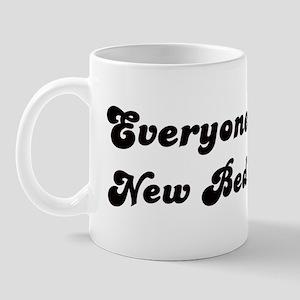 Loves New Bedford Girl Mug