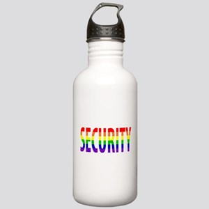 Security - Gay Pride Stainless Water Bottle 1.0L