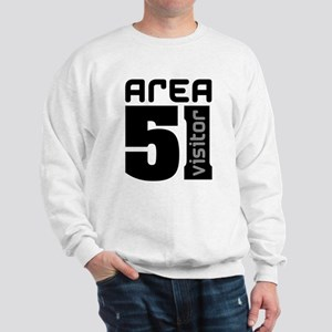 Area 51 Alien Visitor Sweatshirt