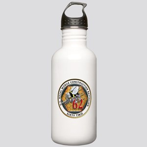 USNMCB-62 Navy Seabees Stainless Water Bottle 1.0L