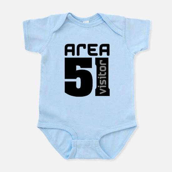 Area 51 Alien Visitor Infant Bodysuit