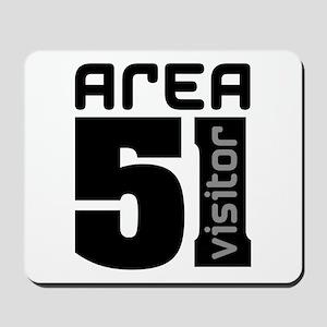 Area 51 Alien Visitor Mousepad