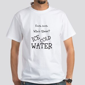 """Ice Cold Water T-Shirt """"Knock Knock"""""""