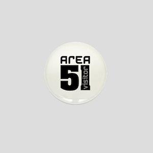Area 51 Alien Visitor Mini Button