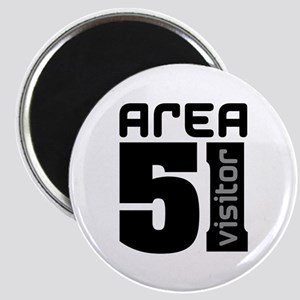Area 51 Alien Visitor Magnet