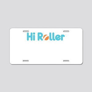 Roller Aluminum License Plate