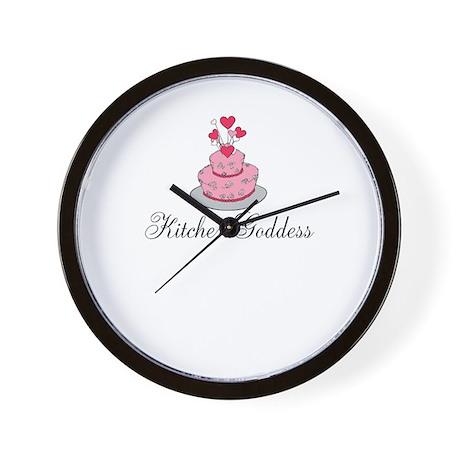 Kitchen Goddess Wall Clock