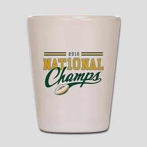 2010 Nat10nal Champs Shot Glass