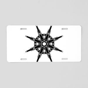 The Dharma Wheel Aluminum License Plate