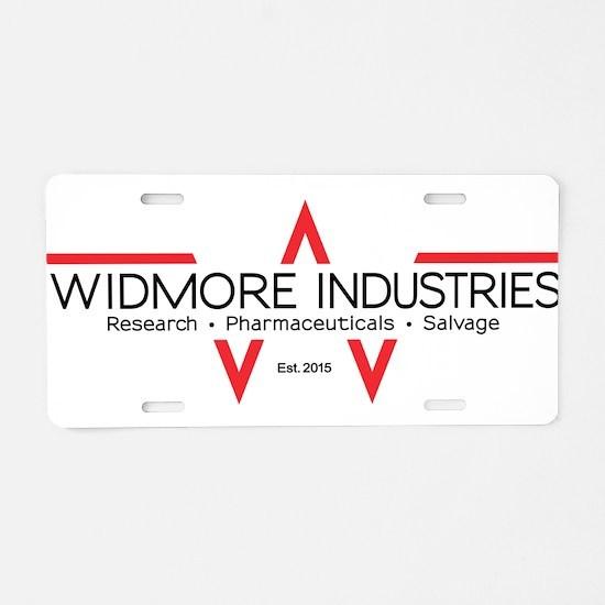 Widmore Industries Aluminum License Plate