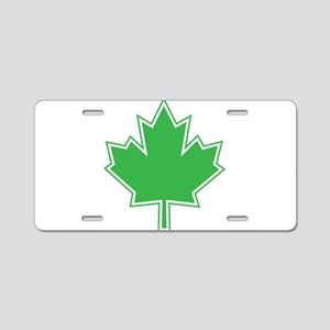 Canada Goes Green Aluminum License Plate