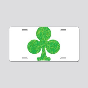 The Green Club Aluminum License Plate