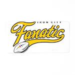 Iron City Fanatic Aluminum License Plate