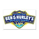 Ben & Hurley's Spring Water Car Magnet 20 x 12