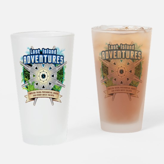 Lost Island Adventures Drinking Glass