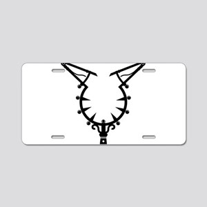 Witch Catcher Aluminum License Plate