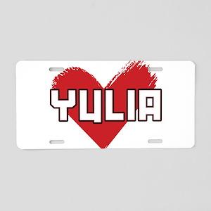 Yulia For President Aluminum License Plate