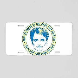 Yulia Tymoshenko Aluminum License Plate