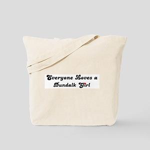 Loves Dundalk Girl Tote Bag