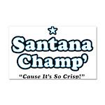 'Champ' so Crisp Car Magnet 20 x 12