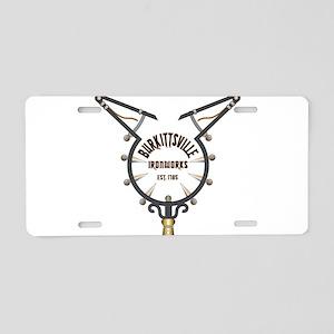 Burkittsville Ironworks Aluminum License Plate