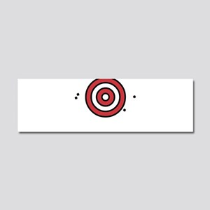 Target Practice Car Magnet 10 x 3