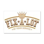 Sir Fix-A-Lot Car Magnet 20 x 12