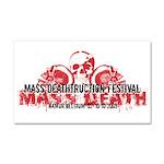 Mass Deathtruction Car Magnet 20 x 12