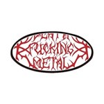 Death F'ing Metal Patches
