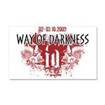Way of Darkness Car Magnet 20 x 12
