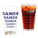 Amusement Park Games Drinking Glass