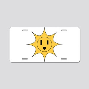 Li'l Sonny Powers Aluminum License Plate